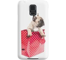 Gift Wrapped Frenchie Samsung Galaxy Case/Skin