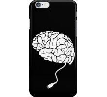 USB Brain Unplugged T Shirt iPhone Case/Skin