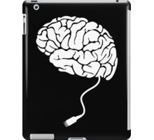 USB Brain Unplugged T Shirt iPad Case/Skin