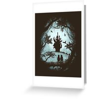 Dark Crystal Dreams Greeting Card