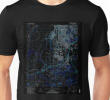 USGS TOPO Map Arkansas AR South Fort Smith 259645 1987 24000 Inverted Unisex T-Shirt