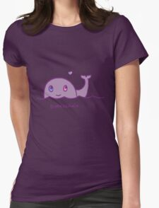 Original Bisexuwhale Womens Fitted T-Shirt