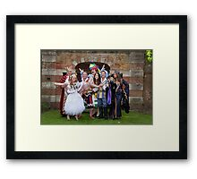 The cast of Sleeping Beauty Framed Print