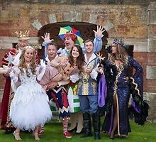 The cast of Sleeping Beauty by Keith Larby