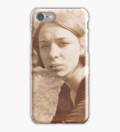 iPhone Case old photo 1795 vintage woman iPhone Case/Skin