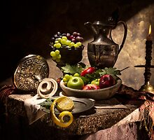 Fruits by Window Light by Jon Wild