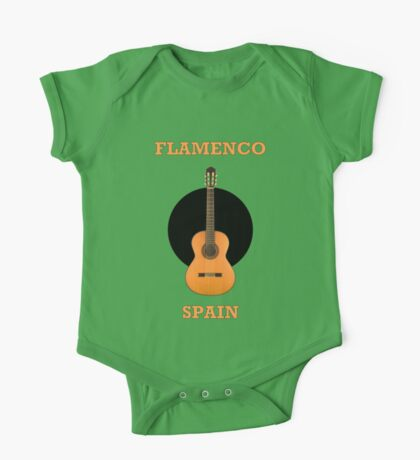 Wonderful Flamenco Spain One Piece - Short Sleeve