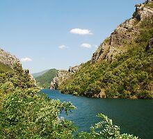 River Neretva Near Jablanica by jojobob