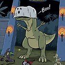Tyranosaurus Boo by andyjhunter
