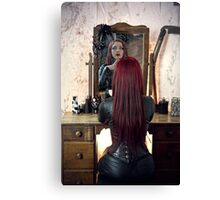 Red Vanity  Canvas Print