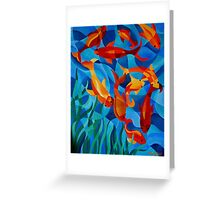 Under the Water Greeting Card