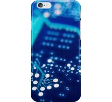 Circuit board background. iPhone Case/Skin