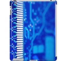 Circuit board background. iPad Case/Skin