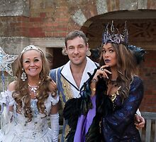 Sonia, Marc Baylis and Zoe Birkett in Sleeping Beauty by Keith Larby
