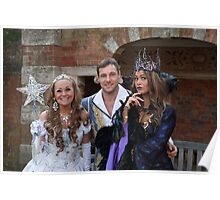 Sonia, Marc Baylis and Zoe Birkett in Sleeping Beauty Poster