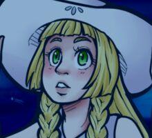 Stargazer Lillie Sticker