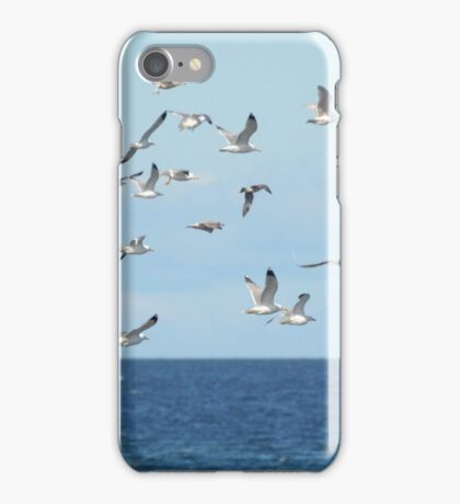 What Do You Call A Seagull Flying Over A Bay? iPhone Case/Skin