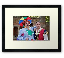Bobby Crush and Jamie Rickers in Sleeping Beauty Framed Print