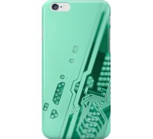 Circuit board background. iPhone Case/Skin