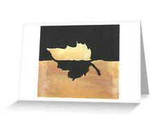 Leaf Greeting Card