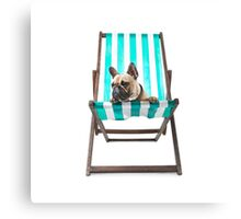 Pampered Pooch Canvas Print