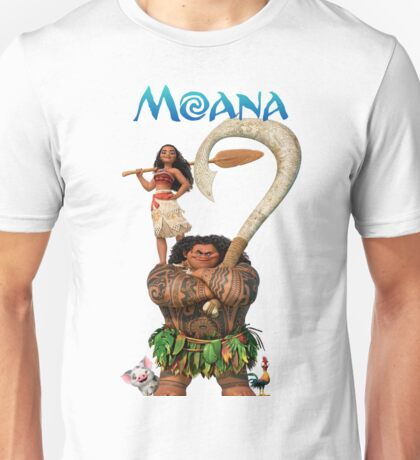 Moana and Maui Unisex T-Shirt