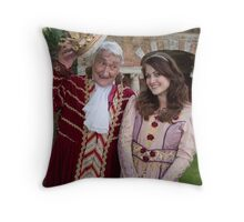 Sophia Thierens in Sleeping Beauty Throw Pillow