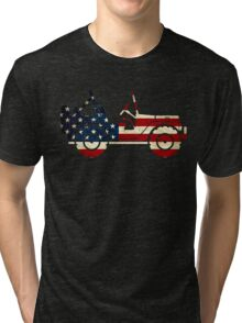 Jeep Classic (Flag Design) Tri-blend T-Shirt
