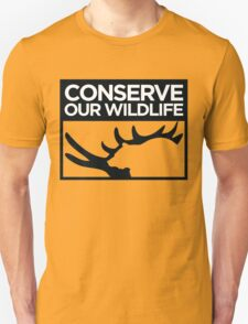 Conserve Our Wildlife T-Shirt