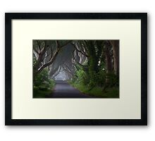 Dark Hedges  Game of Thrones  Co Antrim  Northern Ireland Framed Print