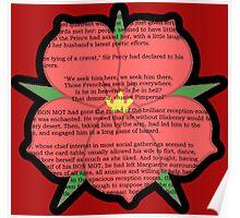 Scarlet Pimpernel - Sir Percy Blakeney's Poem Poster