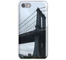 Manhattan Bridge from Brooklyn Bridge Park iPhone Case/Skin