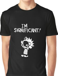 Calvin and Hobbes - I'm Significant Graphic T-Shirt