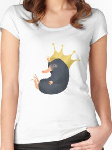 Niffler and His Crown Women's Fitted Scoop T-Shirt
