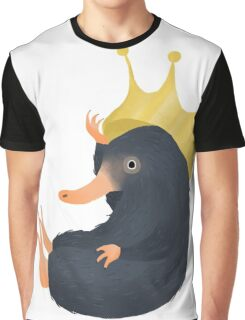 Niffler and His Crown Graphic T-Shirt