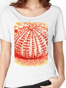Burnt Seiana Sea Urchin Women's Relaxed Fit T-Shirt