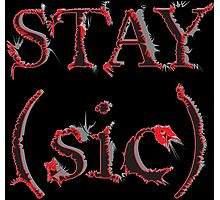 Stay (sic) Photographic Print