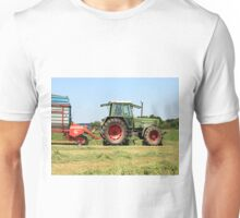 Tractor at work on El Camino, Spain 2 Unisex T-Shirt