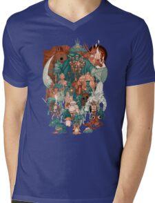Souls Are Dark Gang Mens V-Neck T-Shirt