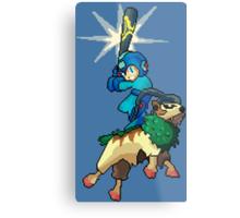 Go-Goat and Mega Man Metal Print