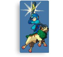 Go-Goat and Mega Man Canvas Print
