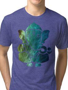 Space Ganesh Tri-blend T-Shirt