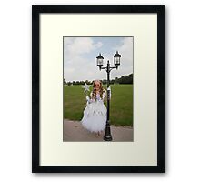 Pop idol Sonia as the good fairy in Sleeping Beauty Framed Print