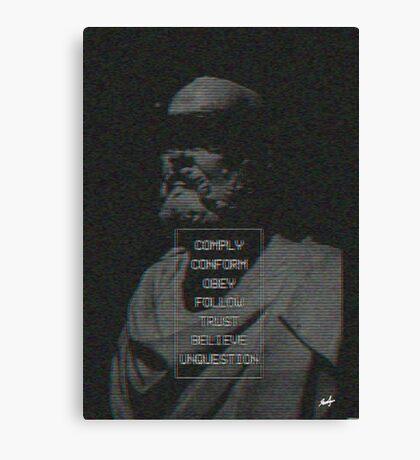 Glitch in the Hierarchy  Canvas Print