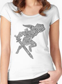 A Hylian Hero Women's Fitted Scoop T-Shirt