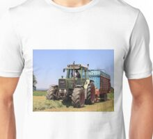 Tractor at work on El Camino, Spain Unisex T-Shirt