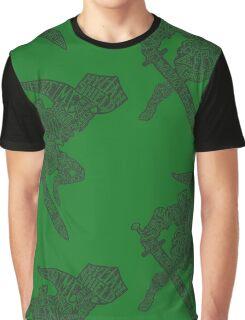 A Hylian Hero Graphic T-Shirt