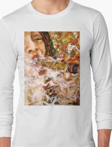 Puffing with Passion. Long Sleeve T-Shirt