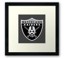 Wasteland Raiders Framed Print