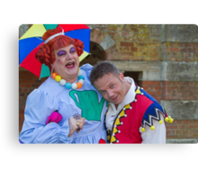 Bobby Crush and Jamie Rickers in Sleeping Beauty Canvas Print